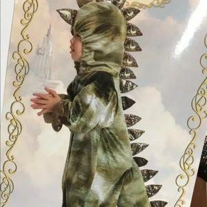 Princess Paradise T-Rex Premium Child Costume Green Dinosaur Dragon 12/18 Mos